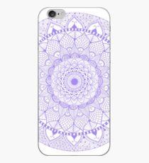 Purple Boho Zentangle Mandala iPhone Case