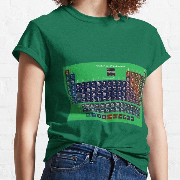 #Периодическаятаблица #Periodic #Table of the #Elements #PeriodicTableoftheElements  Classic T-Shirt