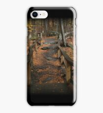 Childs Autumn Hike iPhone Case/Skin