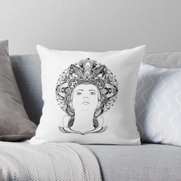 A Head Full of Dreams Throw Pillow