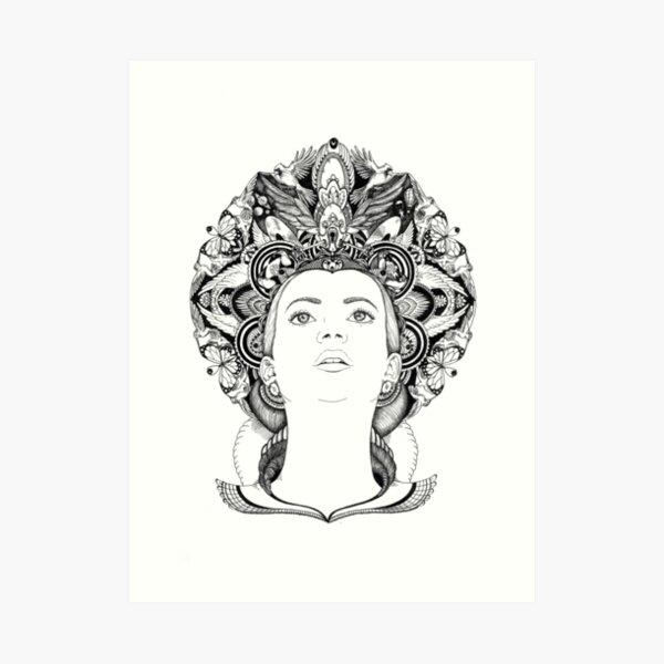 A Head Full of Dreams Art Print