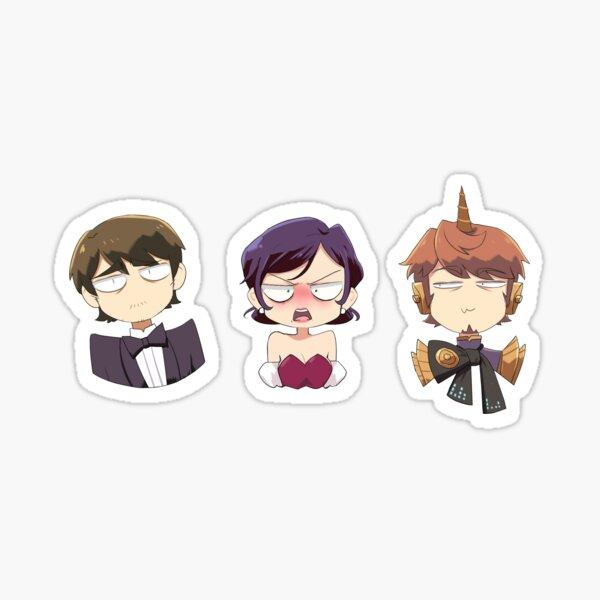 Talkloid Trio Sticker