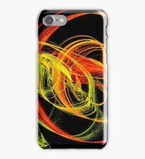 Warm Swirls of Red Yellow and Orange iPhone Case/Skin
