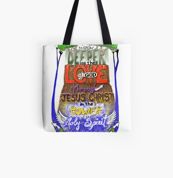 To Grow Deeper All Over Print Tote Bag