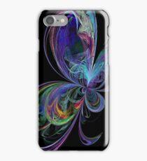 Swirly Rainbow Butterfly iPhone Case/Skin