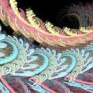 Swirling Pastel Rainbow by pjwuebker