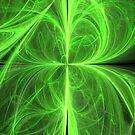Swirling Four Leaf Clover by pjwuebker