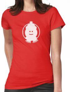 Christmas Snowman Avatar Womens Fitted T-Shirt