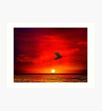 Sunset 11 Art Print