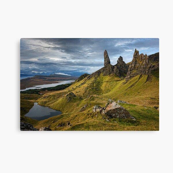 The Storr, Isle of Skye Canvas Print