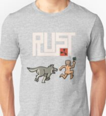 Rust players be like Slim Fit T-Shirt