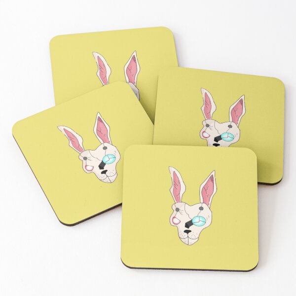 Tina's Mask Coasters (Set of 4)