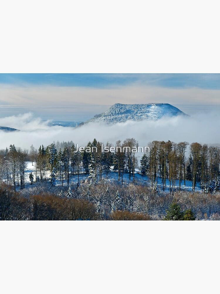 «Le Climont en hiver» par Isenmann