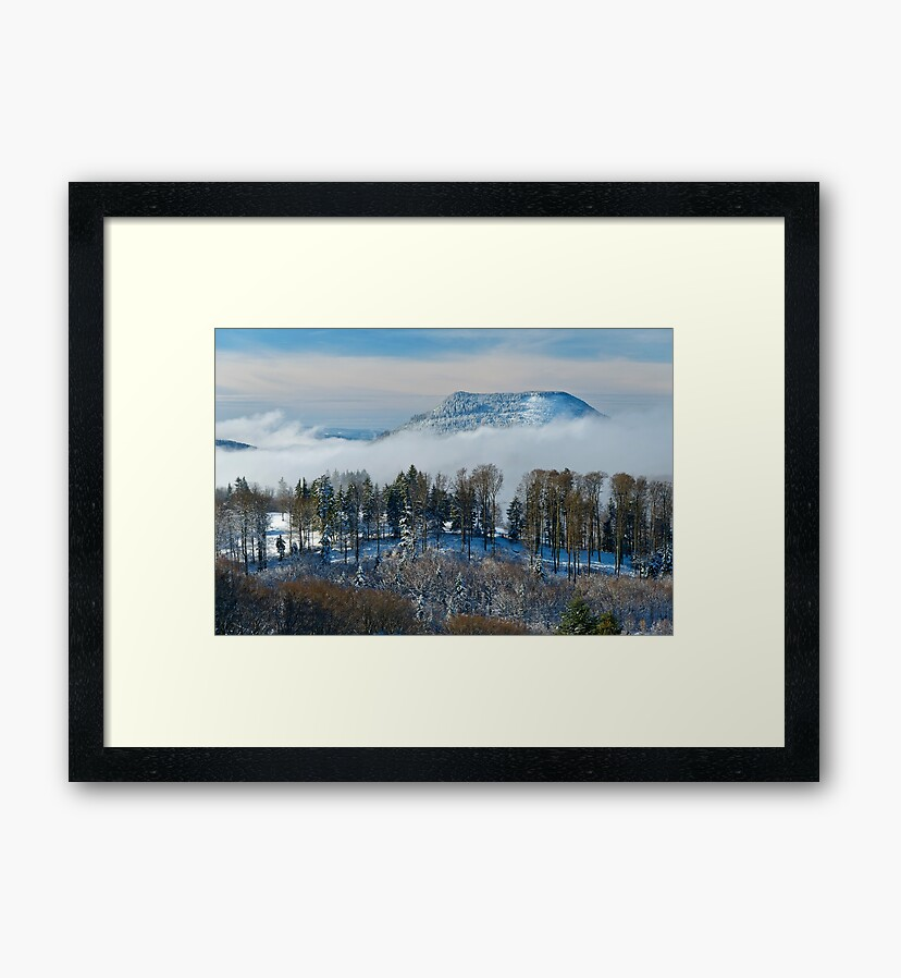 Photo prints : Climont in winter