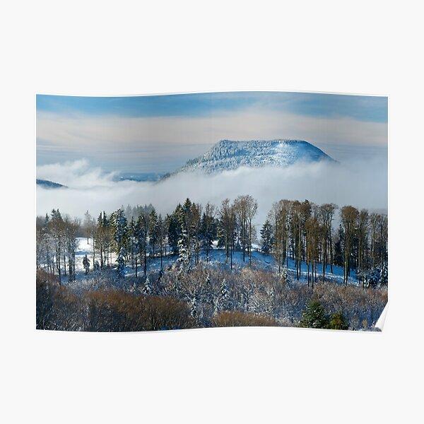 Le Climont en hiver Poster