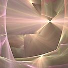 Radiant Beige Abstract by pjwuebker