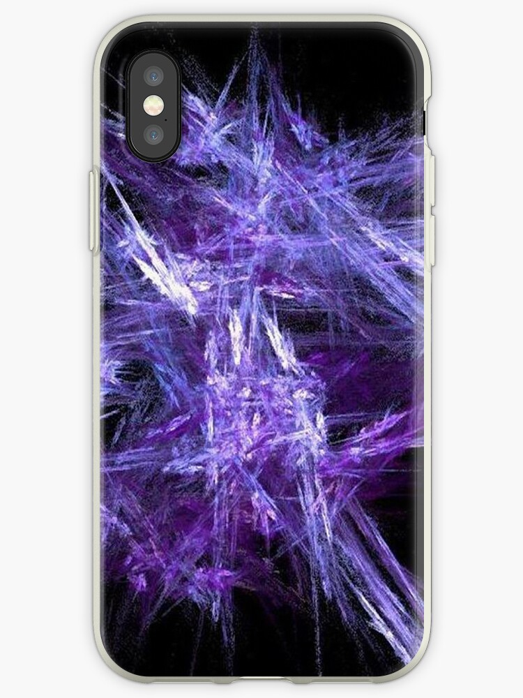 Purple Ice Crystals by pjwuebker