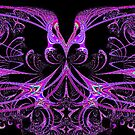 Purple And Pink Wizardry by pjwuebker