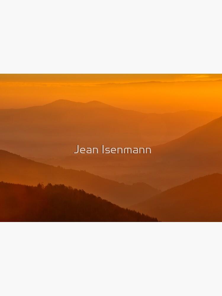 «Lever de soleil depuis le Climont» par Isenmann