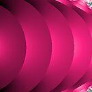 Pink Splash Abstract by pjwuebker
