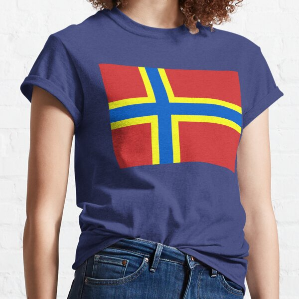 Flag of Orkney, Scotland Classic T-Shirt