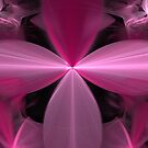 Pink Flower Petals Abstract by pjwuebker