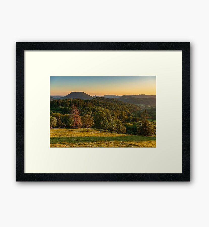 Photo prints : Climont in spring