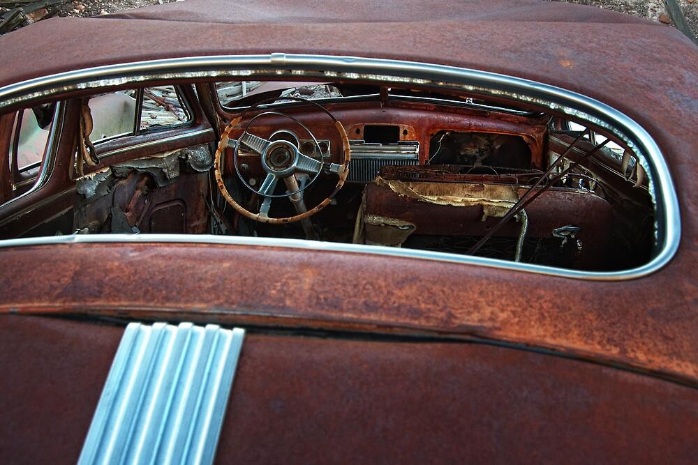 Oxidized Car by Jeannette Katzir