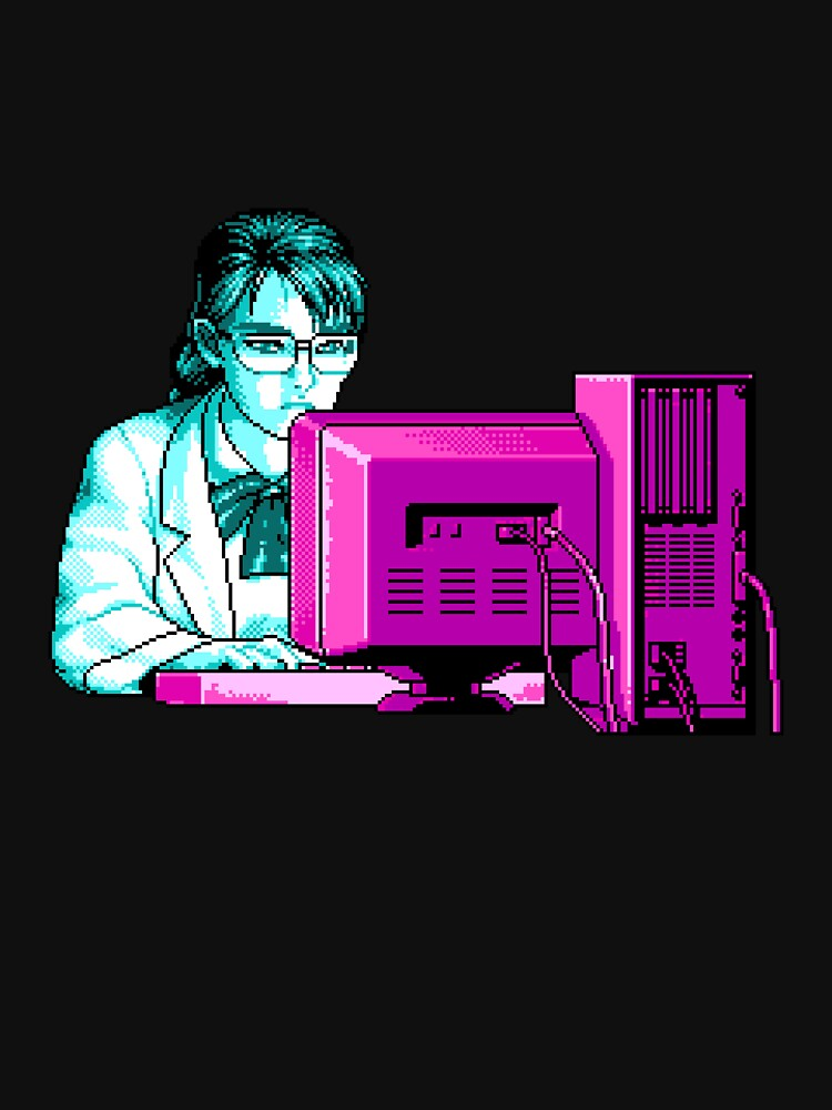 Research (Blue / Pink) by vgjunk