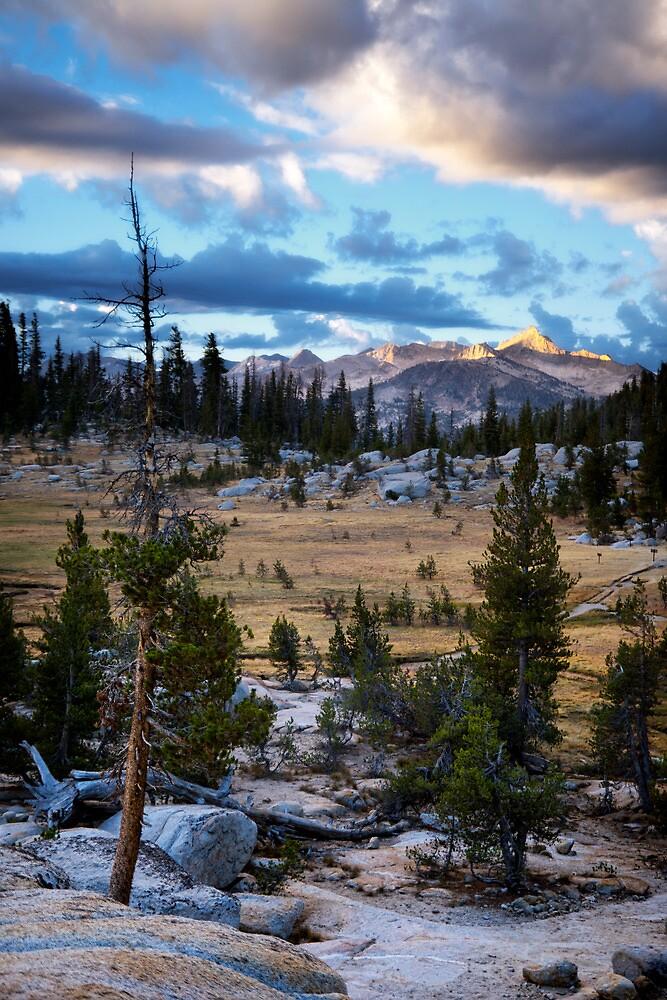 Sunrise Camp High Serrias by Jeannette Katzir