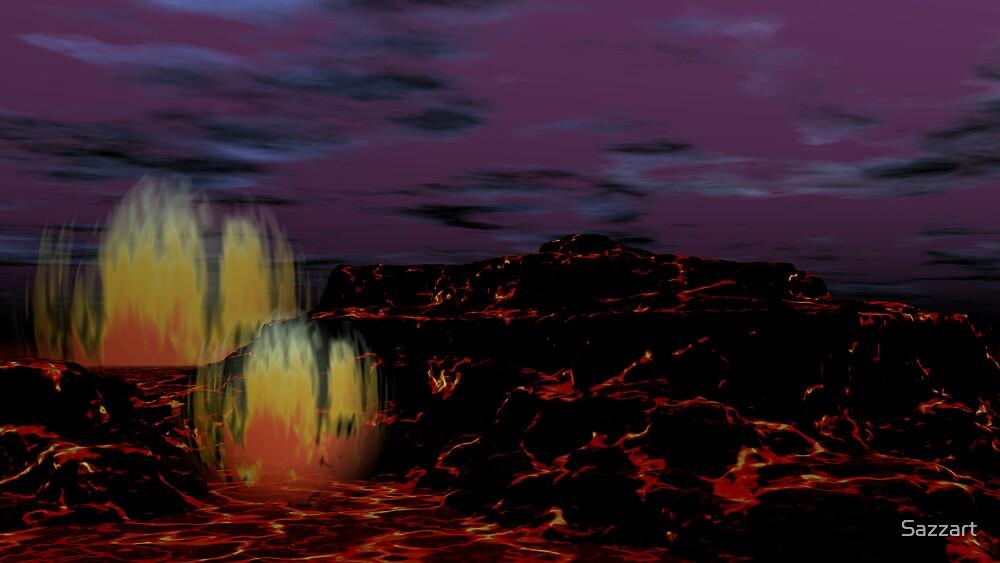 A Modor Evening by Sazzart