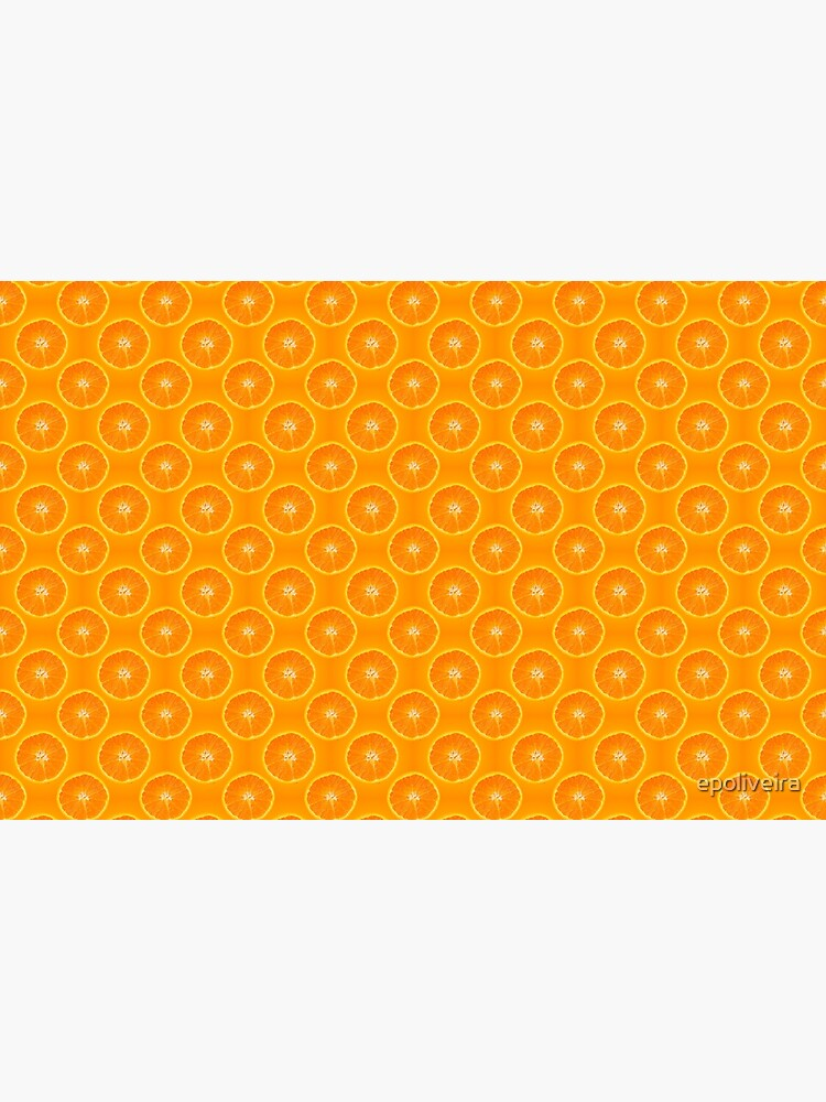 Orange | Fruit Pattern by epoliveira