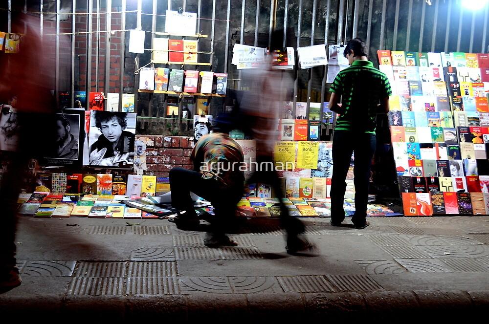 Streets of Dhaka at night by arjurahman