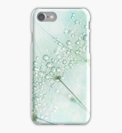 Baby Blue Sparkles iPhone Case/Skin