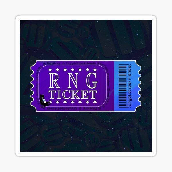 RNG (Cryptotipsfr) Sticker