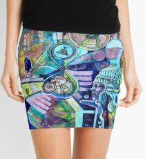 Beautiful Brain Carnival Mini Skirt