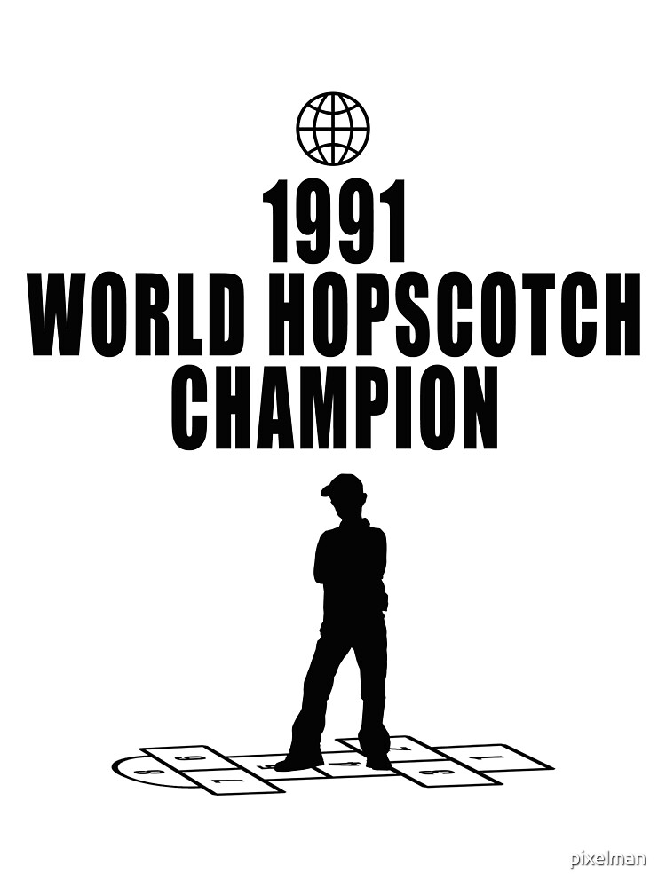 Hopscotch Champion by pixelman