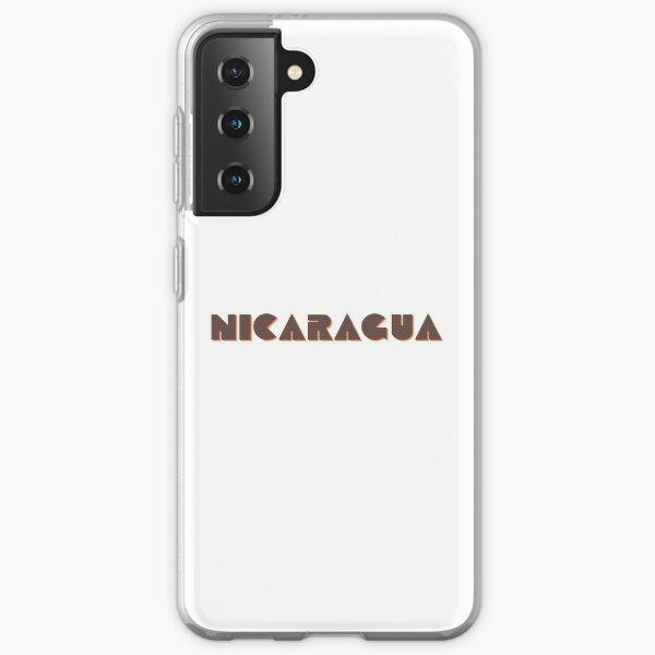 ¡Nicaragua! Funda blanda para Samsung Galaxy