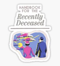 Handbook For The Recently Deceased Sticker