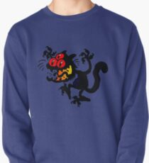 Cartoon Scaredy Cat T-Shirts by Cheerful Madness!! Pullover