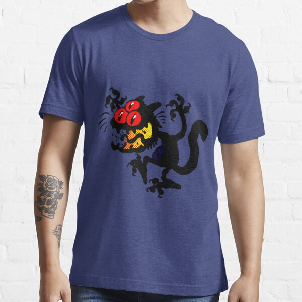 Cartoon Scaredy Cat T-Shirts by Cheerful Madness!! Essential T-Shirt