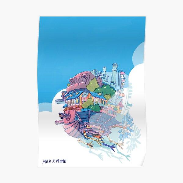 Flying Castle Poster