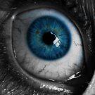 Blue Eyeball by pjwuebker