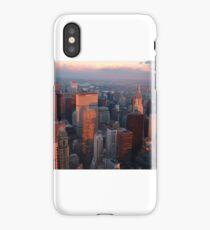 Sub-zero Sunset (NYC) iPhone Case/Skin