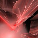 Amazing Red Swirls by pjwuebker