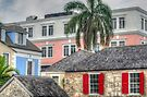 A sight through times in Downtown Nassau, The Bahamas by Jeremy Lavender Photography