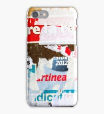 Old posters iPhone Case iPhone Case/Skin