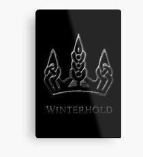 Winterhold Metal Print
