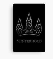 Winterhold Canvas Print