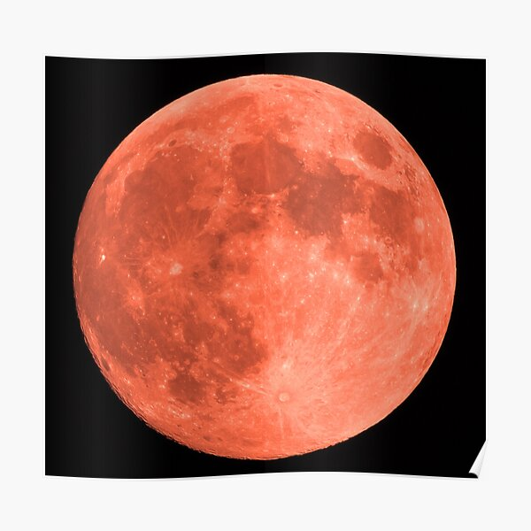 Blood Moon In Lock Down 06/06/20 09:02 Poster